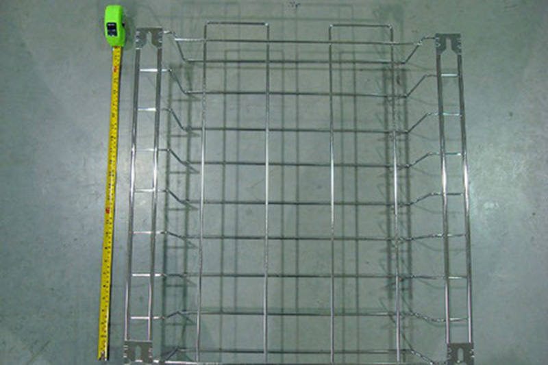 cardinal components manufacturered this food grade wire cooking basket for their client